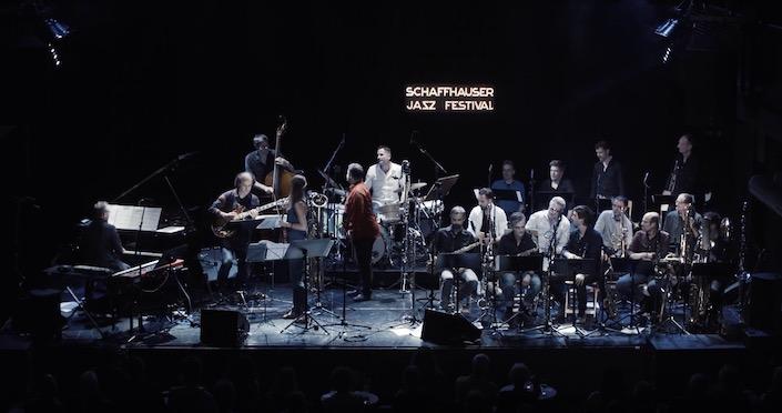 """Zurich Jazz Orchestra - Schaffhauser Jazzfestival 2018 Set: Set: BD 20"""", SD 14"""", TT 12"""", FT 14"""", FT 16"""", Ahorn"""